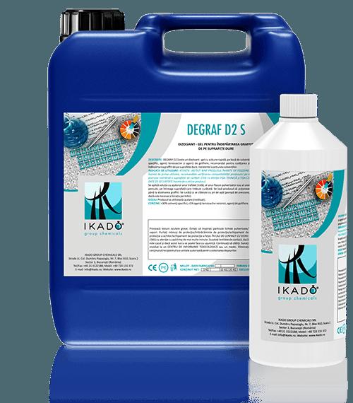 Solutie pentru indepartarea graffiti DEGRAF-D2-S