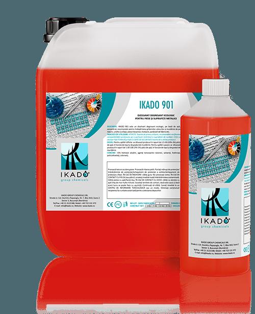 IKADO 901D DIZOLVANT DEGRESANT PENTRU CURĂŢAREA ŞI ELIMINAREA COMPLETĂ A REZIDUURILOR DE GRAFFITI ŞI LIPICI