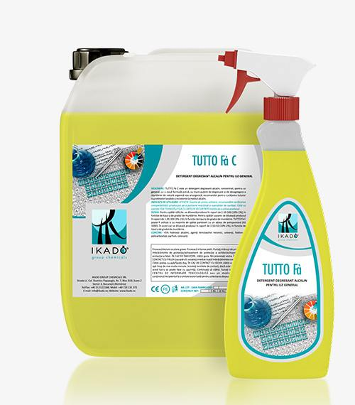 TUTTO Fà CDETERGENT DEGRESANT ALCALIN PENTRU UZ GENERAL